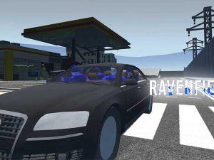 Машина Audi A8 Ravenfield