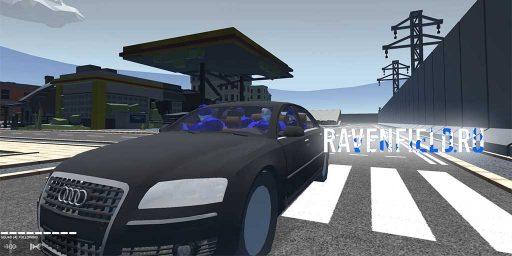 Мод на технику Audi A8 Ravenfield
