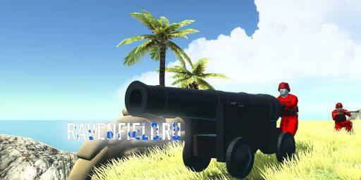 Пиратская пушка в Ravenfield