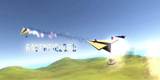 Бумажный самолет мод на технику в Ravenfield