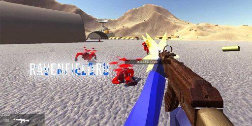 Воин пустоши (набор оружия) Fallout в Ravenfield