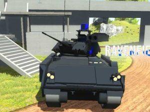 M2 Bradley боевая машина пехоты USA в Ravenfield