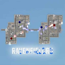 Городская карта Double City в Ravenfield