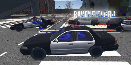 Полицейская машина Ford Crown Victoria скачать мод на технику Ravenfield