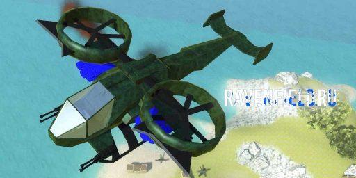 AT-99 Gunship конвертоплан из Аватара в Ravefield