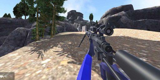 """Скачать мод на оружие Ravenfield - снайперская винтовка CheyTac """"Intervention"""" M200"""